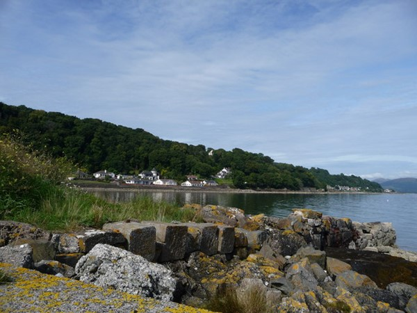Cycling on Bute