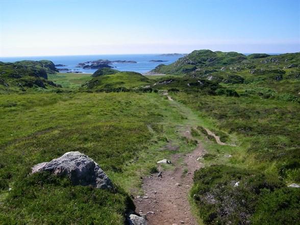 South To Columbas Bay Iona