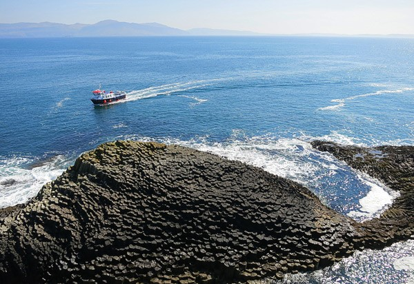 Follow in famous footsteps with a visit to Staffa