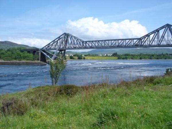 Connel Bridge and the Falls of Lora